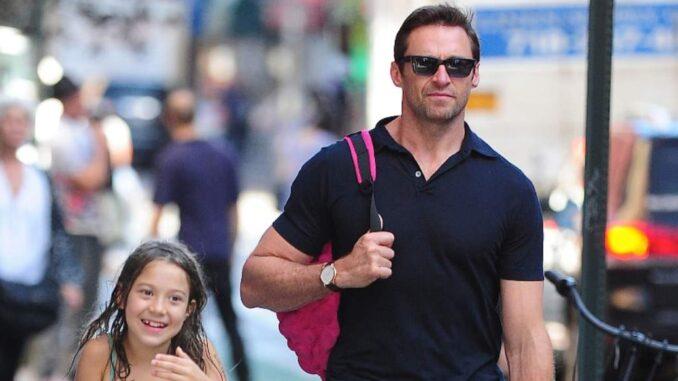 Who is Hugh Jackman's daughter?
