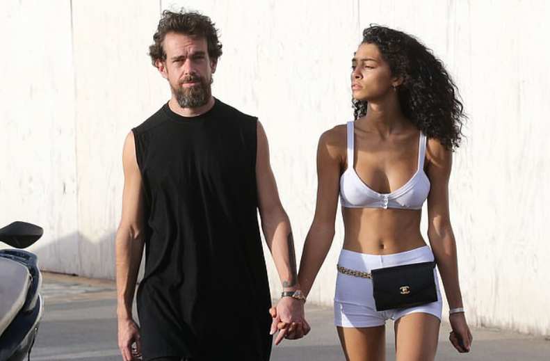 Jack Dorsey and Raven Lyn