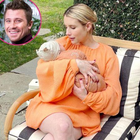 Emma Roberts and her boyfriend, Garrett Hedlund, gave birth to their first child
