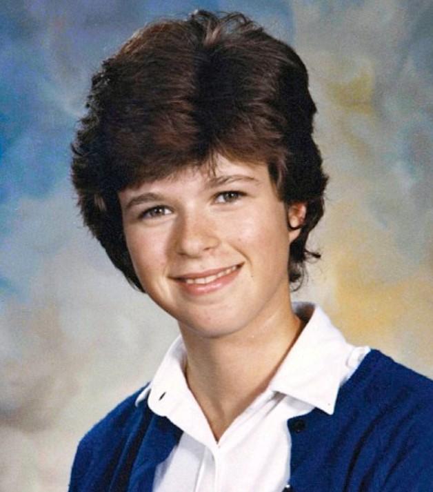 Kate Garraway young