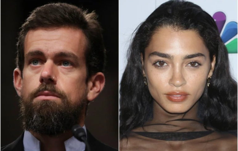 Kate Greer and Jack Dorsey