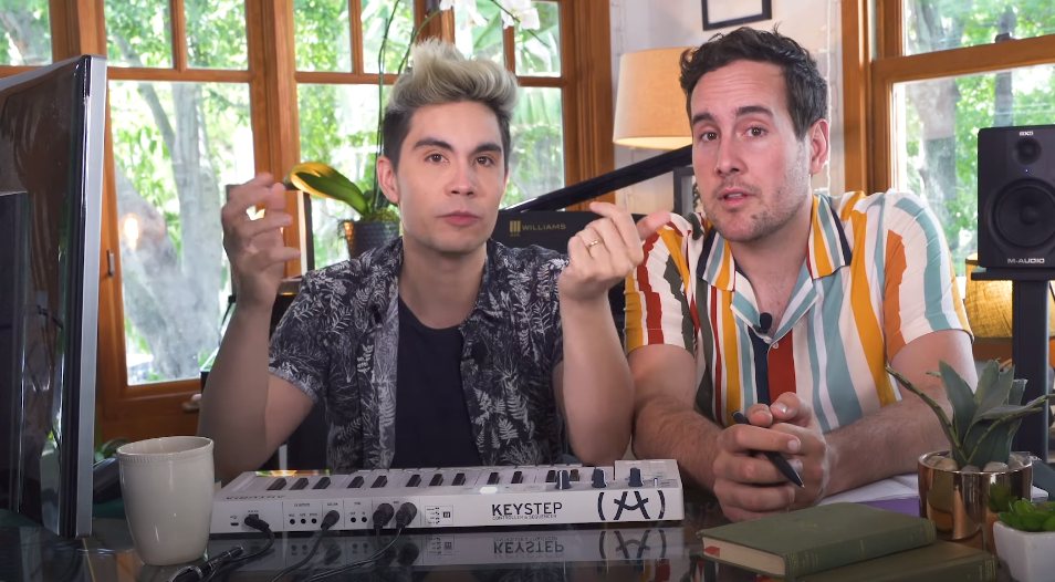 Sam Tsui and husband Casey Breves