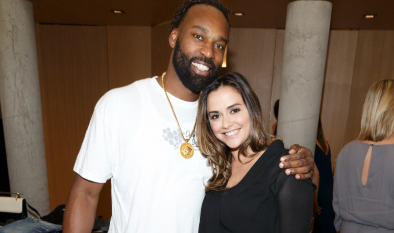 Baron Davis and his ex-wife, Isabella Brewster