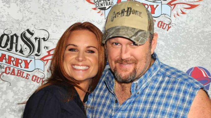 The Untold Truth Of Larry the Cable Guy's Wife