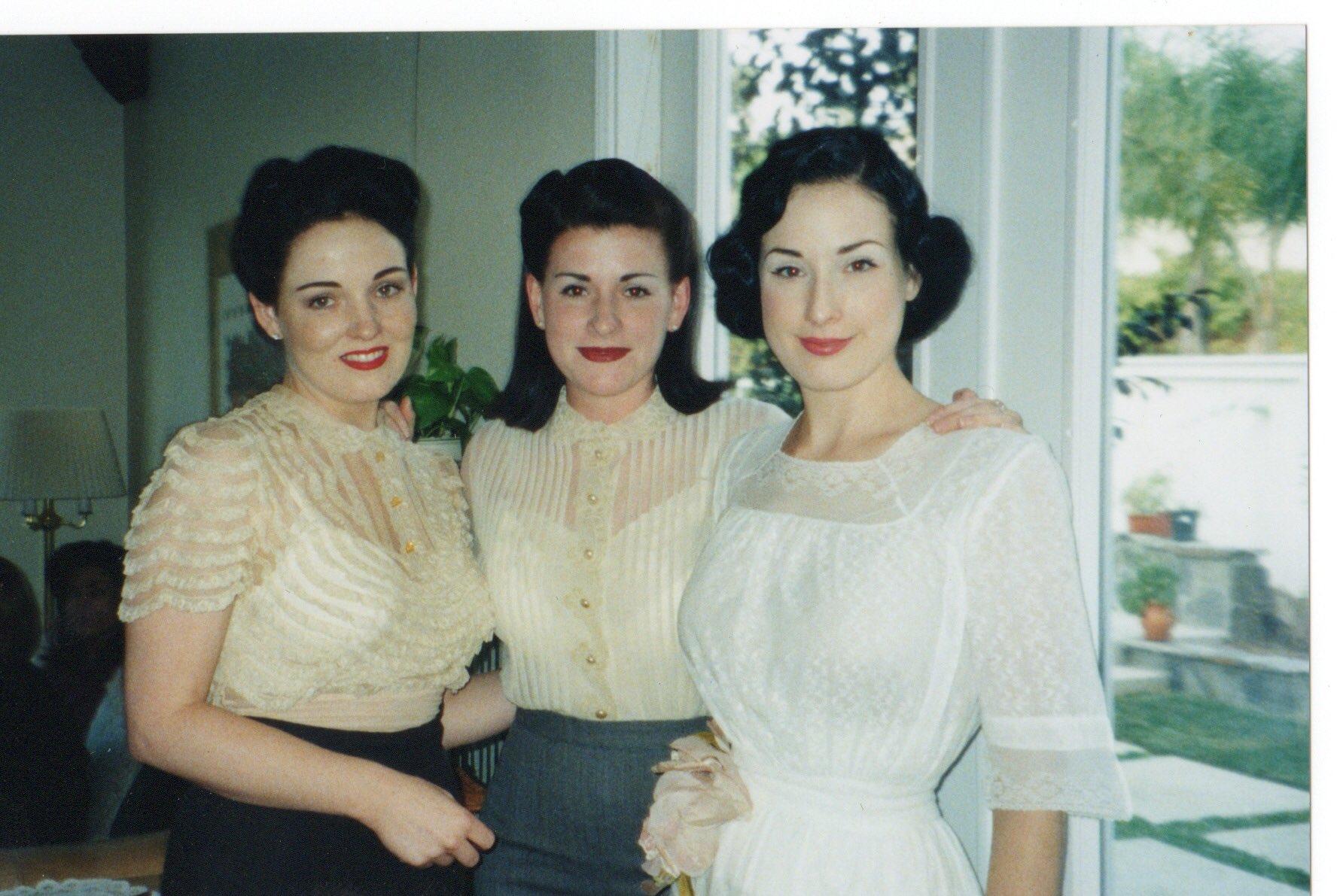 Dita Von Teese siblings