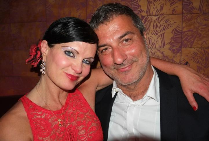 Paolo Macchiarini and Benita Alexander