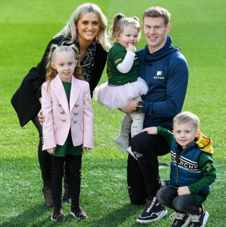 James McClean family