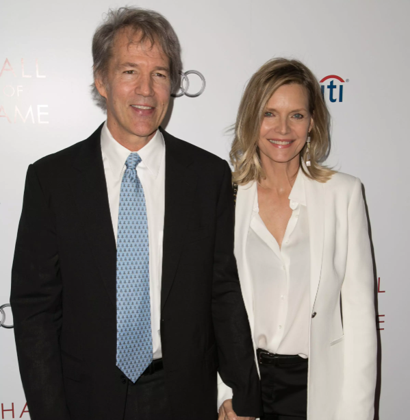 Michelle Pfeiffer and her husband, David Kelley