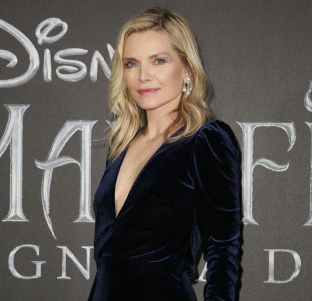 Michelle Pfeiffer, a famous actress