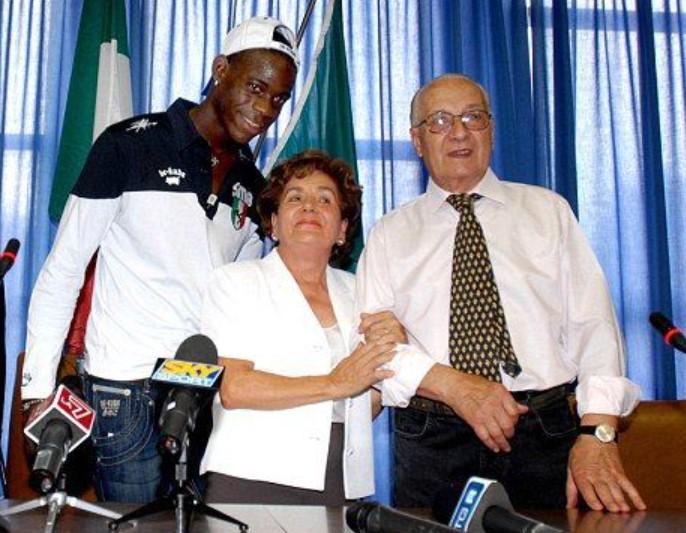 Mario Balotelli foster parents
