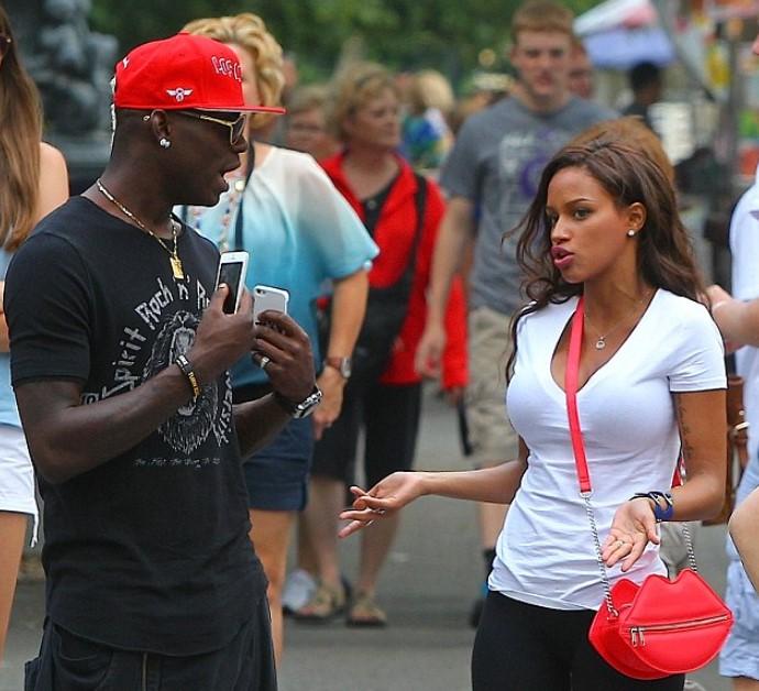 Mario Balotelli dating