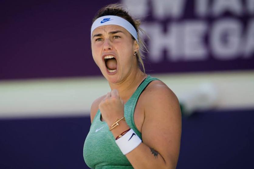 Aryna Sabalenka, a famous tennis player