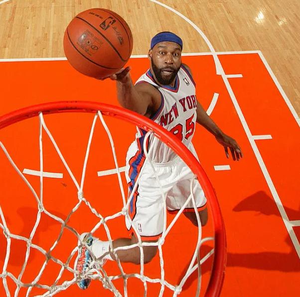 Baron Davis, a former NBA guard
