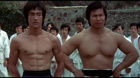 Bolo Yeung with Bruce Lee in Enter The Dragon