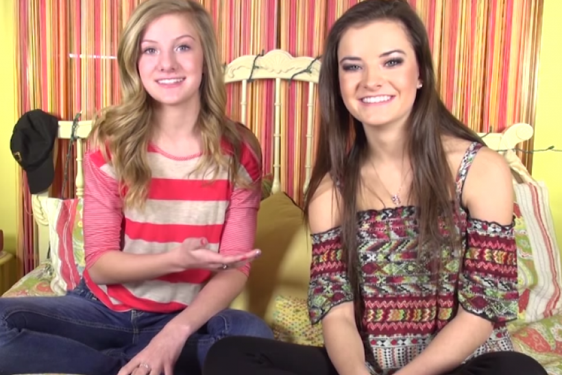 Brooke and her sister Paige