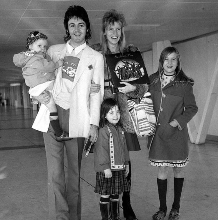 Mary McCartney family