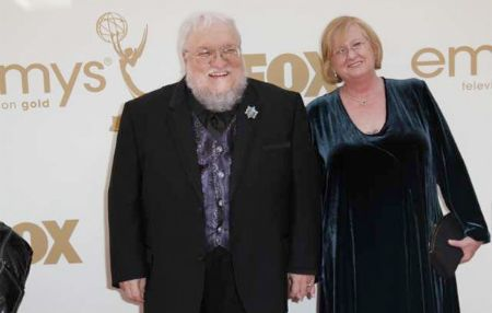 Parris McBride and her Husband George R. R. Martin