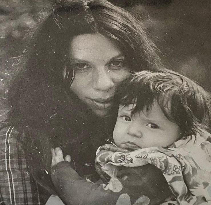 Soleil Moon Frye mother