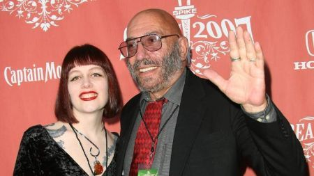 Susan L. Oberg with her late husband Sid Haig