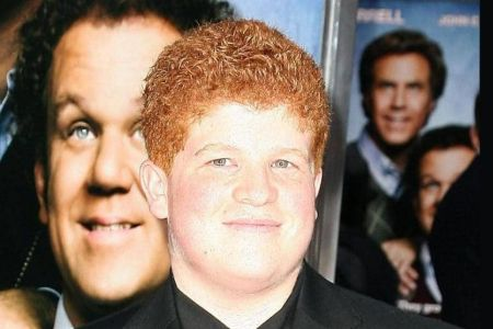 Travis T. Flory at the premiere of Step Brothers