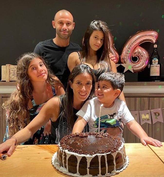 Javier Mascherano family