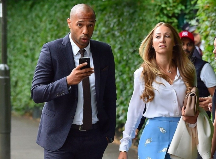 Thierry Henry girlfriend