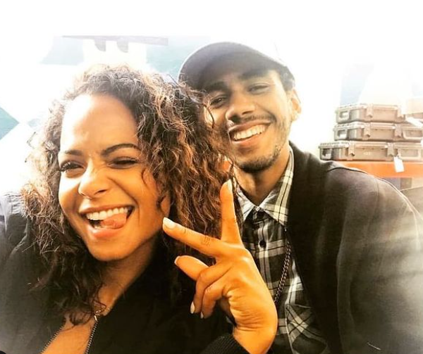 Jahmil French and his ex-griflriend, Christina Milian