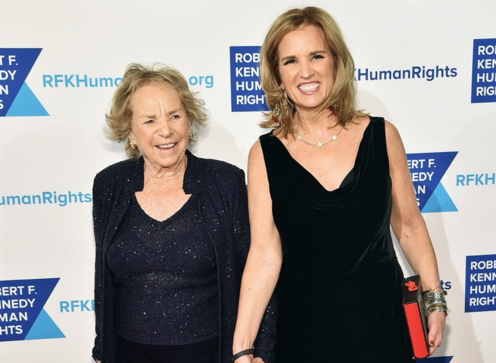 Kerry Kennedy mother