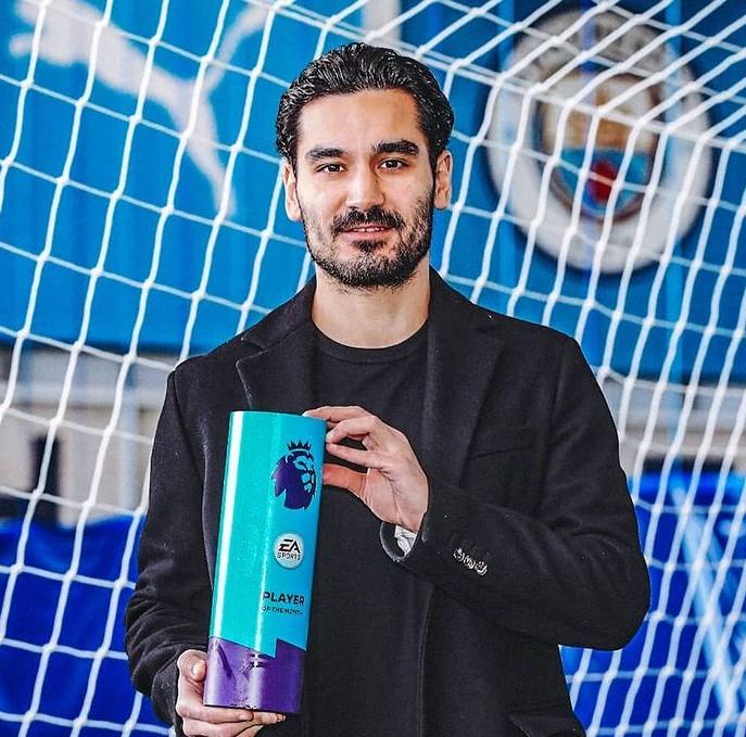 Ilkay Gundogan awards