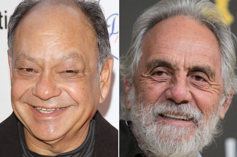 Cheech Marin and Tommy
