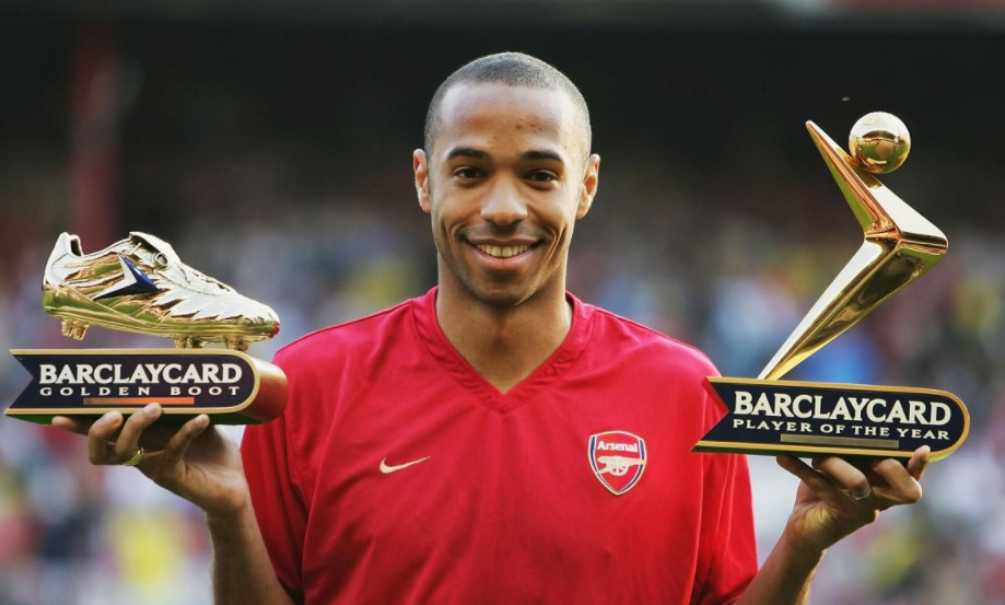 Thierry Henry awards