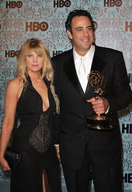 Jill Diven with her ex-husband at Emmy Awards.