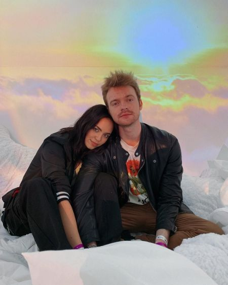 Finneas has been dating his girlfriend Claudia for two years
