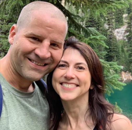 MacKenzie Scott and her new husband, Dan Jewett