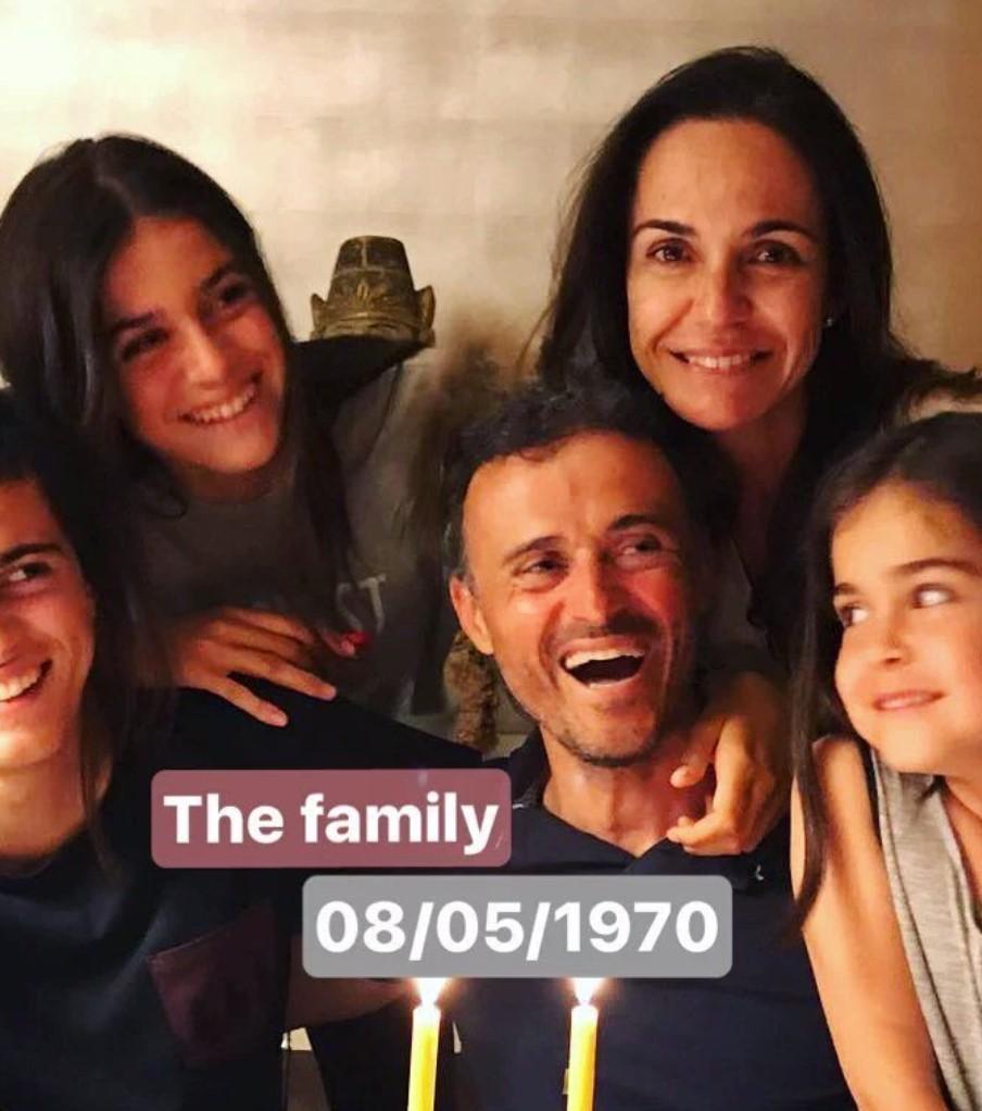 Luis Enrique family