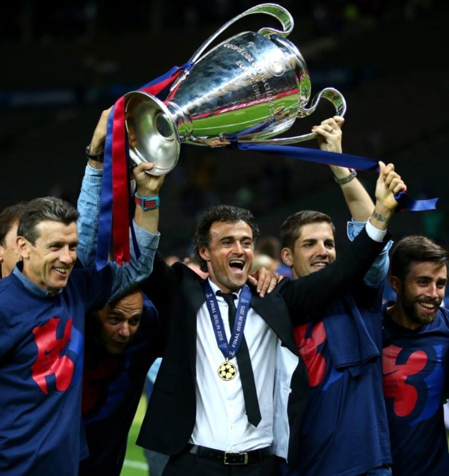 Luis Enrique club titles