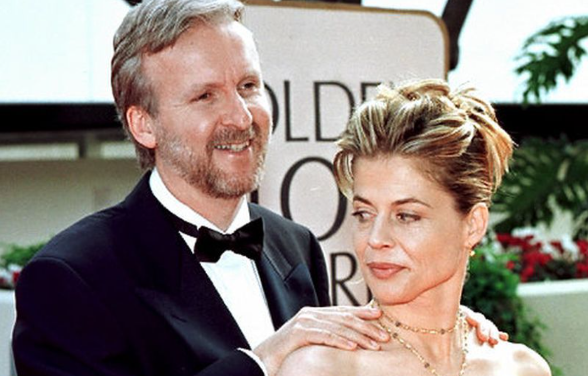 Linda Hamilton and ex-husband James Cameron