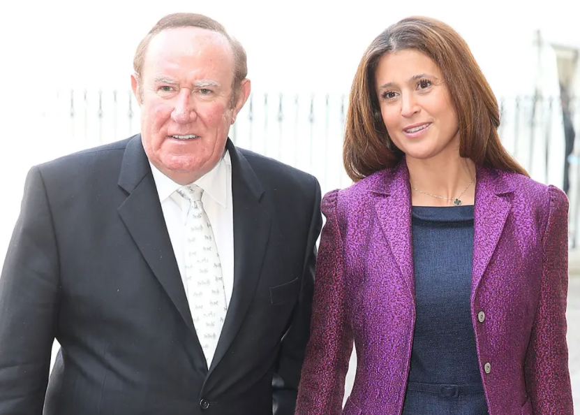 Susan Neilsson and husband Andrew Neil