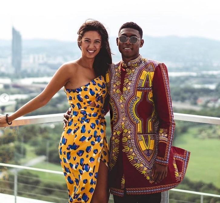 David Alaba girlfriend
