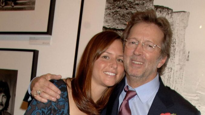 All About Eric Clapton's Wife