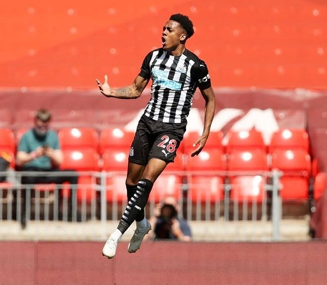 Joe Willock Newcastle United