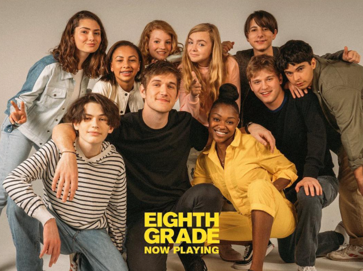 Bo Burnham's first feature film as writer and director, 'Eighth Grade'