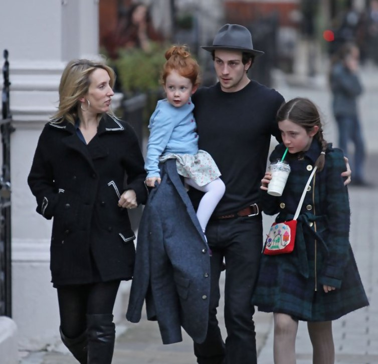 Sam Taylor-Johnson family