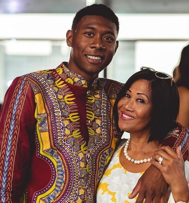 David Alaba mother