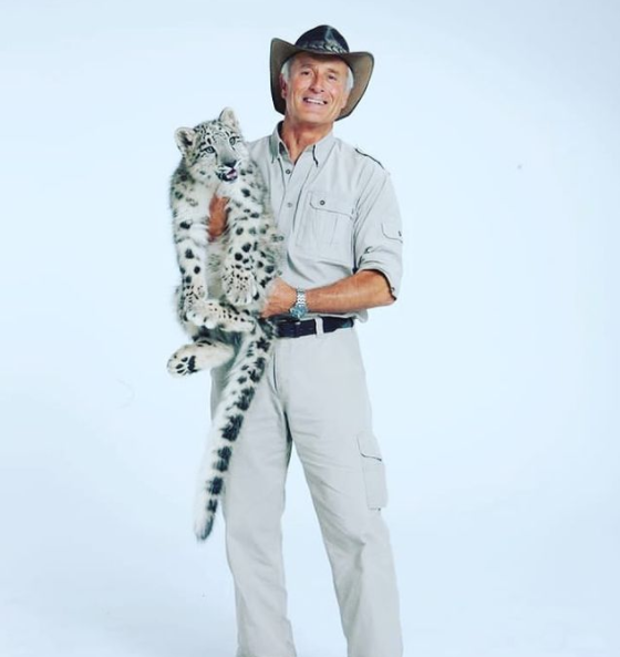 Jack Hanna, a retired zookeeper