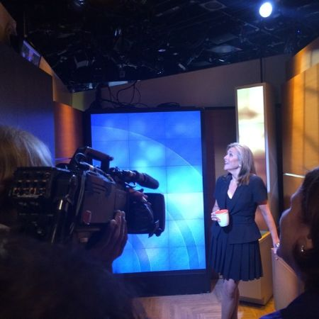 Meredith Vieira on the Today Show