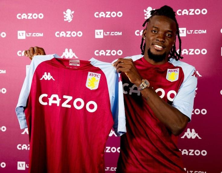 Bertrand Traore Aston Villa