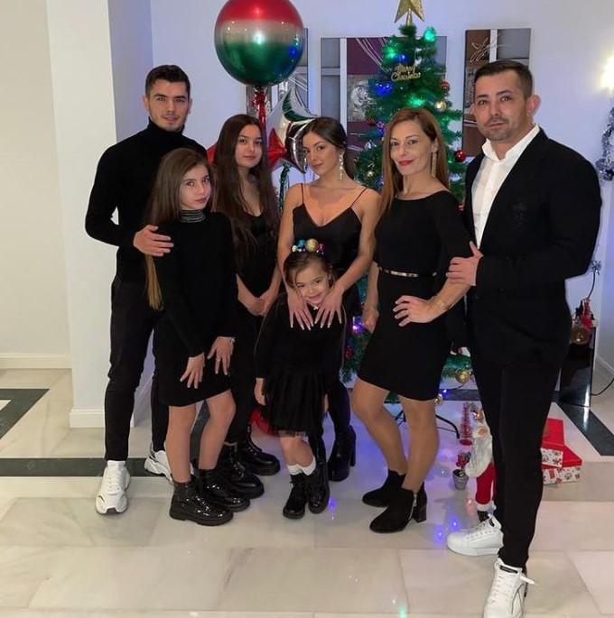 Brahim Diaz family