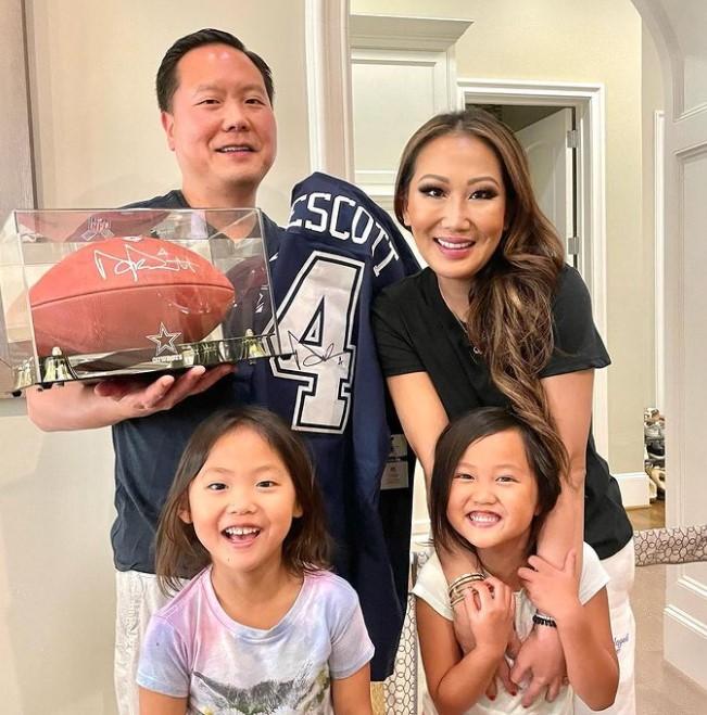Tiffany Moon family