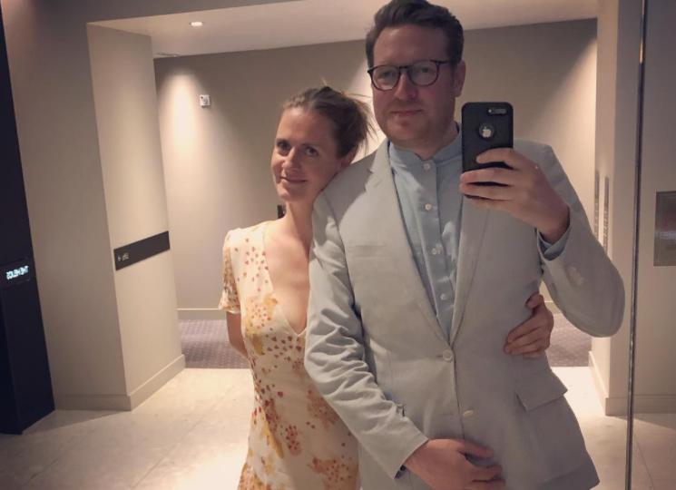 Chloe and her husband Edward Grant